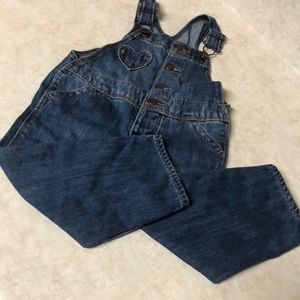 🌺NEW ITEM🌺 JEAN OVERALLS SIZE 18 MONTHS PREOWNED